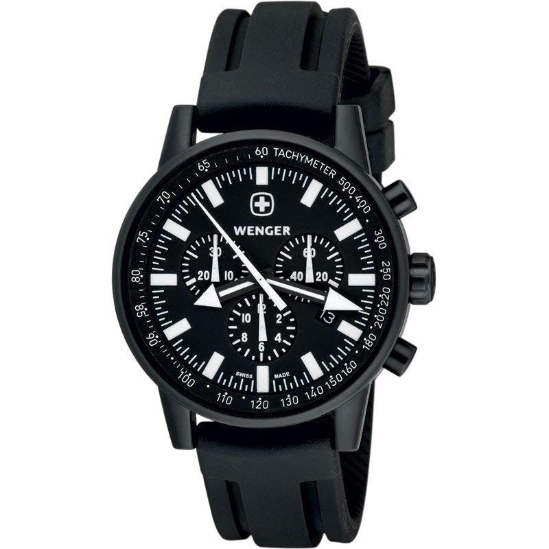 Mens Wenger Commando WPER Chronograph Watch