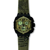 Herren Swatch Flightor Chronograf Uhr