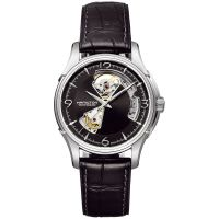 Mens Hamilton Jazzmaster Open Heart Automatic Watch H32565735