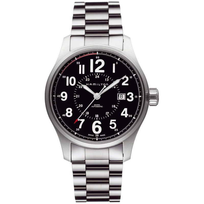 Mens Hamilton Khaki Field Officer Automatic Watch