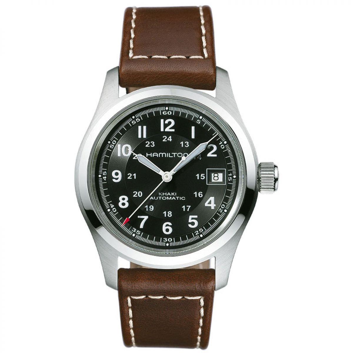 Herren hamilton khaki field 38mm uhren h70455533 for Watches 38mm