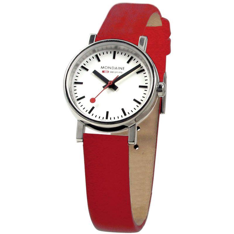Ladies Mondaine Swiss Railways Evo Watch