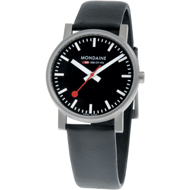 Mens Mondaine Swiss Railways Evo Watch A6583030014SBB