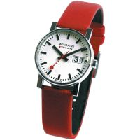 Damen Mondaine Schweizer Railways Big Datum Uhr