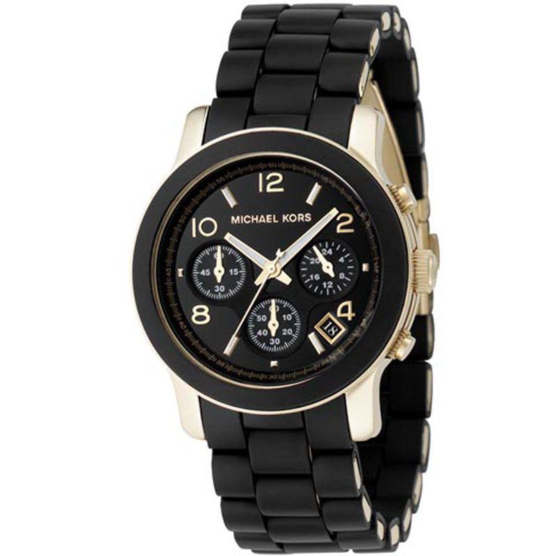 Ladies Michael Kors Runway Chronograph Watch