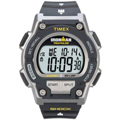 Mens Timex Indiglo Ironman Alarm Chronograph Watch T5K195