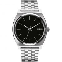 Nixon The Time Teller Unisexklocka Silver A045-000