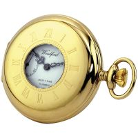 poche Woodford Half Hunter Pocket Watch WF1010