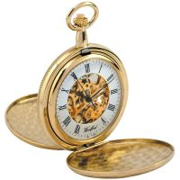 Woodford Pocket Skeleton Mechanical Watch