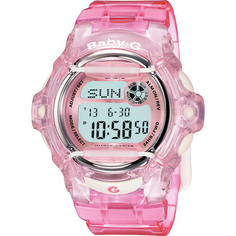 femme Casio Baby-G Alarm Chronograph Watch BG-169R-4ER