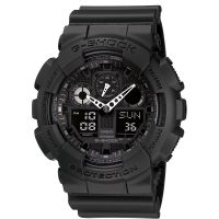 Herren Casio G-Shock Alarm Chronograph Watch GA-100-1A1ER