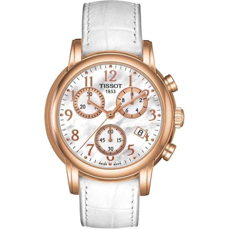 Ladies Tissot Dressport Chronograph Watch
