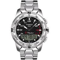 Herren Tissot T-Touch II Alarm Chronograph Watch T0474204420700