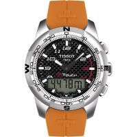 Tissot T-Touch II Herenchronograaf Oranje T0474204720701