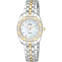 Damen Citizen Paladion Diamant Eco-Drive Uhr