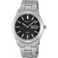 Mens Seiko Titanium Watch