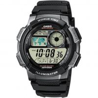 Hommes Casio World Alarme Chronographe Montre