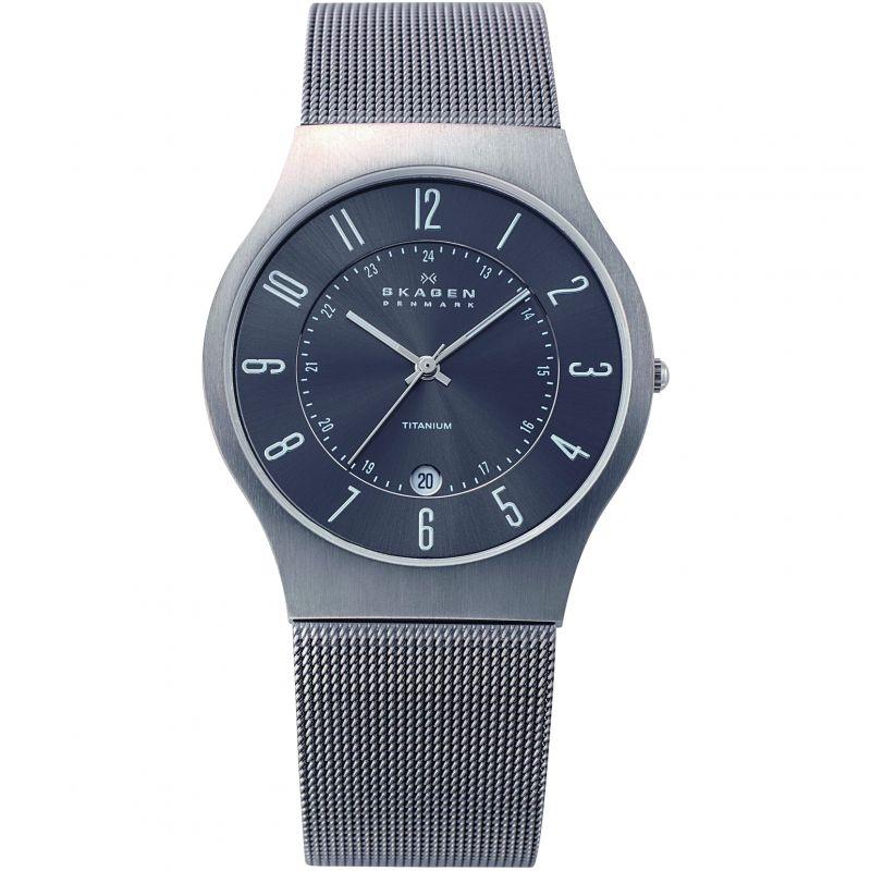 Mens Skagen Grenen Titanium Watch