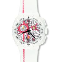 Orologio Cronógrafo da Uomo Swatch Street Map Flash SUIW411