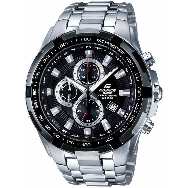 homme Casio Edifice Chronograph Watch EF-539D-1AVEF