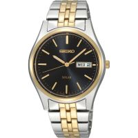 Mens Seiko Solar Powered Watch SNE034P1