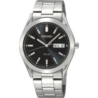 Mens Seiko Solar Powered Watch SNE039P1