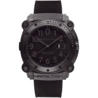 Hommes Hamilton Kaki Below Zero 1000m Automatique Montre