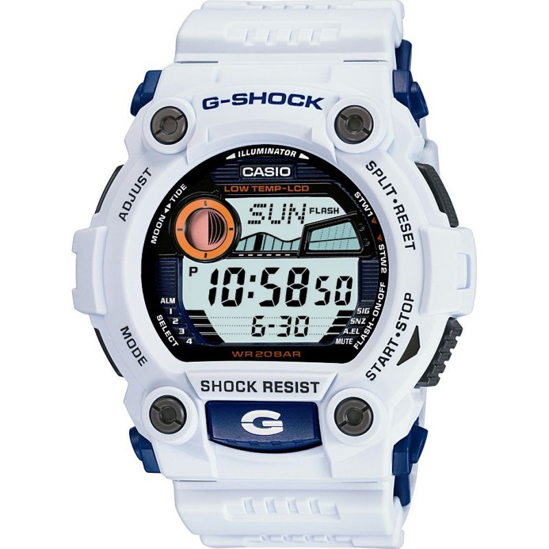 homme Casio G-Shock G-Rescue Alarm Chronograph Watch G-7900A-7ER