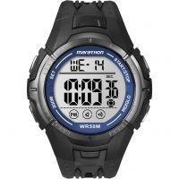Mens Timex Indiglo Marathon Alarm Chronograph Watch