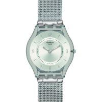 unisexe Swatch Skins Metal Knit Watch SFM118M