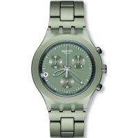 Herren Swatch Smoky Sand Chronograph Watch SVCG4000AG
