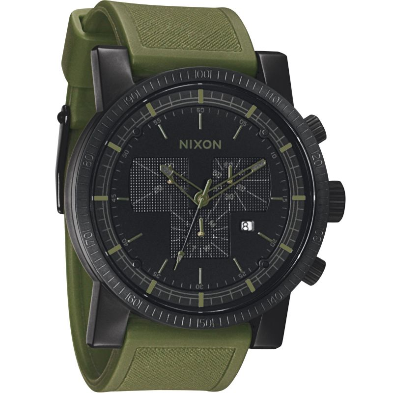 Mens Nixon The Magnacon Chronograph Watch