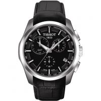 homme Tissot Couturier GMT Chronograph Watch T0354391605100