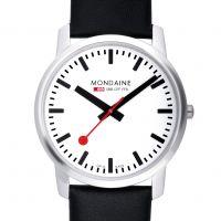 Herren Mondaine Schweizer Railways Uhr
