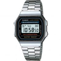 unisexe Casio Classic Alarm Chronograph Watch A168WA-1YES