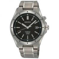 Herren Seiko Titan kinetisch Uhr