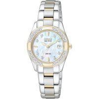 Damen Citizen Regent Diamant Eco-Drive Uhr