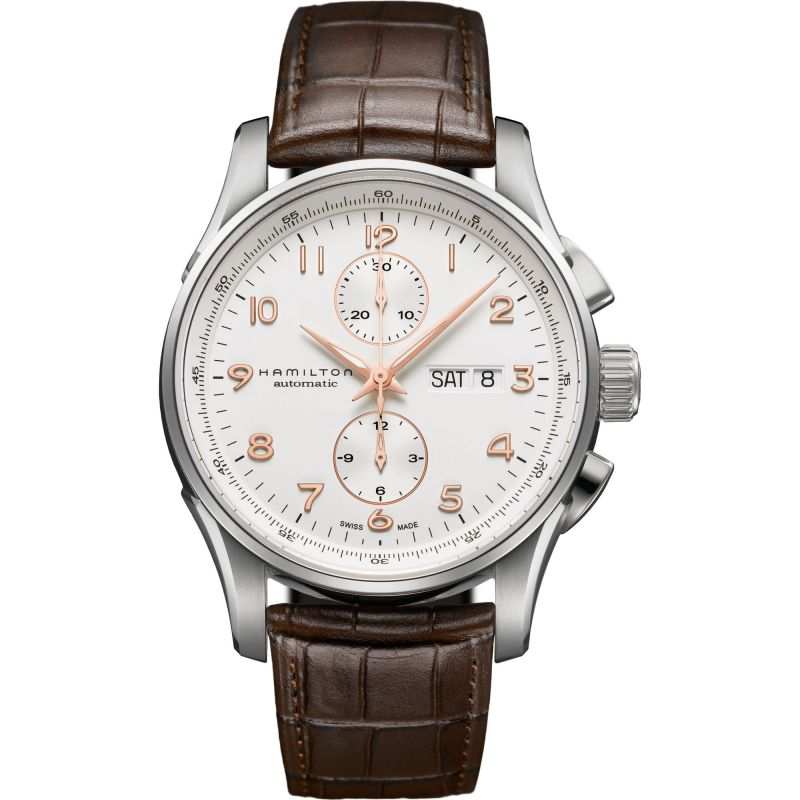 Mens Hamilton Jazzmaster Maestro Automatic Chronograph Watch