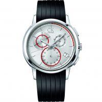 Herren Calvin Klein Drive Chronograph Watch K1V27926