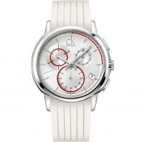 unisexe Calvin Klein Drive Chronograph Watch K1V27938