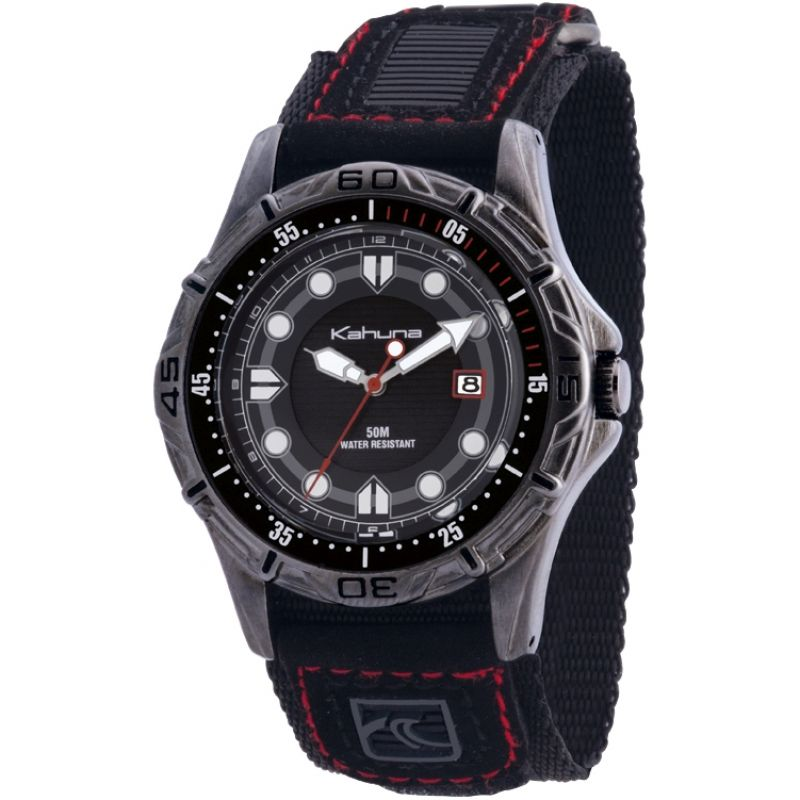 Herren Kahuna Velcro Watch K5V-0002G