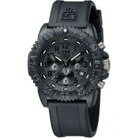 Herren Luminox Navy Seal Colormark 3080 Serie Blackout Chronograf Uhr