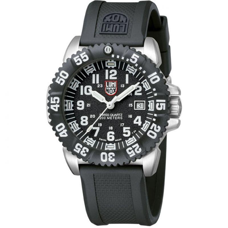 Mens Luminox Navy SEAL Steel Colormark 3150 Series Watch