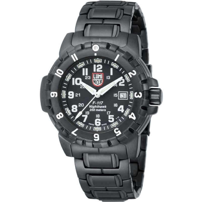 Mens Luminox F117 Nighthawk 6400 Series Watch