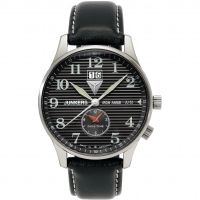 Mens Junkers Iron Annie JU52 Dual Time Watch