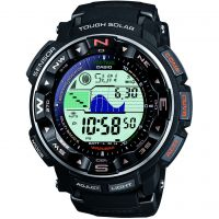 homme Casio Pro Trek Alarm Chronograph Tough Solar Watch PRW-2500-1ER