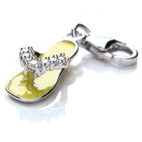 Ladies Royal London Sterling Silver Sandal Charm
