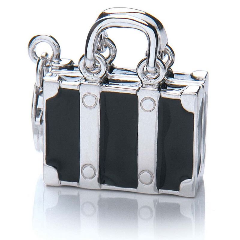 Ladies Royal London Sterling Silver Suitcase Charm RLSC0016