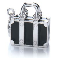 Royal London Dames Suitcase Charm Sterling Zilver RLSC0016