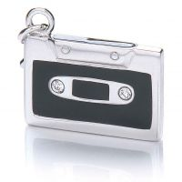 Royal London Dames Tape Charm Sterling Zilver RLSC0042